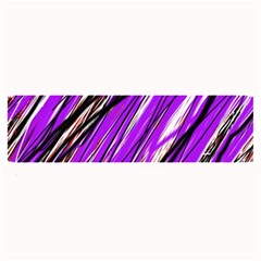 Purple Pattern Large Bar Mats by Valentinaart