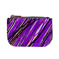 Purple Pattern Mini Coin Purses by Valentinaart