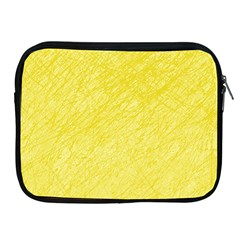Yellow Pattern Apple Ipad 2/3/4 Zipper Cases by Valentinaart