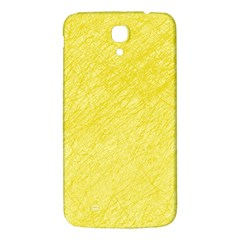 Yellow Pattern Samsung Galaxy Mega I9200 Hardshell Back Case by Valentinaart