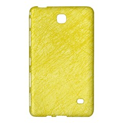 Yellow Pattern Samsung Galaxy Tab 4 (7 ) Hardshell Case  by Valentinaart