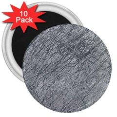 Gray Pattern 3  Magnets (10 Pack)  by Valentinaart