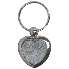 Gray Pattern Key Chains (heart)  by Valentinaart