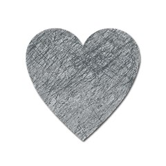 Gray Pattern Heart Magnet by Valentinaart