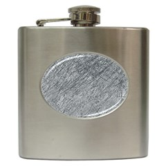 Gray Pattern Hip Flask (6 Oz) by Valentinaart