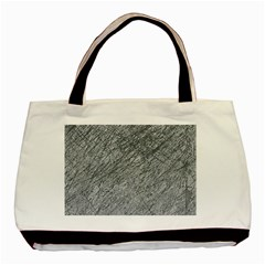 Gray Pattern Basic Tote Bag by Valentinaart