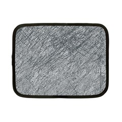 Gray Pattern Netbook Case (small)  by Valentinaart