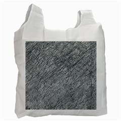 Gray Pattern Recycle Bag (two Side)  by Valentinaart