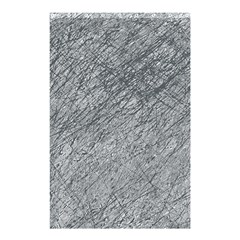 Gray Pattern Shower Curtain 48  X 72  (small)  by Valentinaart
