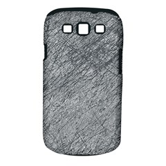 Gray Pattern Samsung Galaxy S Iii Classic Hardshell Case (pc+silicone) by Valentinaart