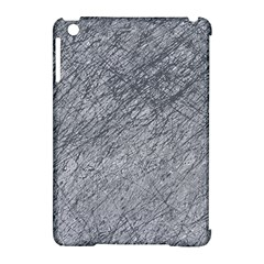 Gray Pattern Apple Ipad Mini Hardshell Case (compatible With Smart Cover) by Valentinaart