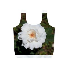White Petal Full Print Recycle Bags (s)  by comfortzone