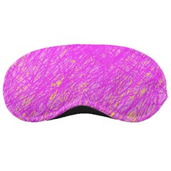 Pink Pattern Sleeping Masks