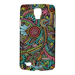Colorful Hippie Flowers Pattern, Zz0103 Samsung Galaxy S4 Active (i9295) Hardshell Case by Zandiepants