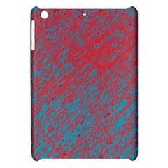 Red And Blue Pattern Apple Ipad Mini Hardshell Case by Valentinaart