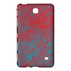 Red And Blue Pattern Samsung Galaxy Tab 4 (7 ) Hardshell Case  by Valentinaart