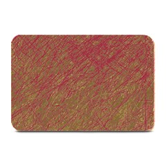 Brown Pattern Plate Mats by Valentinaart