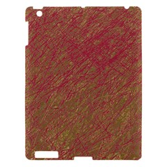 Brown Pattern Apple Ipad 3/4 Hardshell Case by Valentinaart