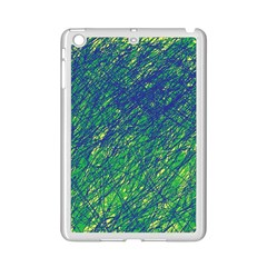 Green Pattern Ipad Mini 2 Enamel Coated Cases by Valentinaart
