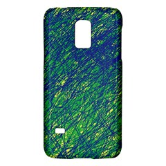 Green Pattern Galaxy S5 Mini by Valentinaart