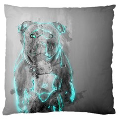 Dog Large Cushion Case (two Sides) by NSAsStore