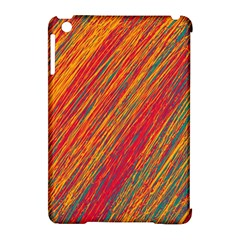 Orange Van Gogh Pattern Apple Ipad Mini Hardshell Case (compatible With Smart Cover)
