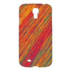 Orange Van Gogh Pattern Samsung Galaxy S4 I9500/i9505 Hardshell Case