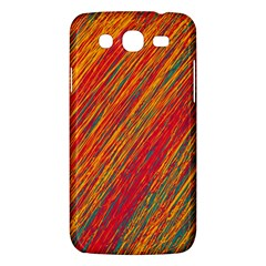 Orange Van Gogh Pattern Samsung Galaxy Mega 5 8 I9152 Hardshell Case