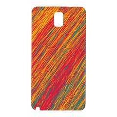 Orange Van Gogh Pattern Samsung Galaxy Note 3 N9005 Hardshell Back Case