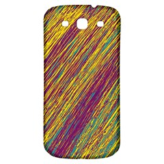 Yellow, Purple And Green Van Gogh Pattern Samsung Galaxy S3 S Iii Classic Hardshell Back Case by Valentinaart