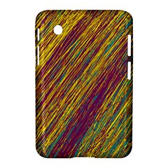 Yellow, Purple And Green Van Gogh Pattern Samsung Galaxy Tab 2 (7 ) P3100 Hardshell Case  by Valentinaart