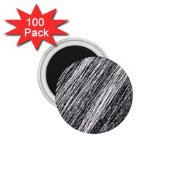 Black And White Decorative Pattern 1 75  Magnets (100 Pack)  by Valentinaart
