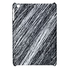 Black And White Decorative Pattern Apple Ipad Mini Hardshell Case by Valentinaart