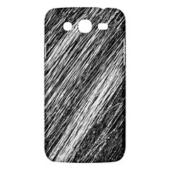 Black And White Decorative Pattern Samsung Galaxy Mega 5 8 I9152 Hardshell Case  by Valentinaart