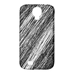 Black And White Decorative Pattern Samsung Galaxy S4 Classic Hardshell Case (pc+silicone) by Valentinaart