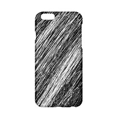 Black And White Decorative Pattern Apple Iphone 6/6s Hardshell Case by Valentinaart