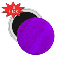 Purple Pattern 2 25  Magnets (10 Pack)  by Valentinaart