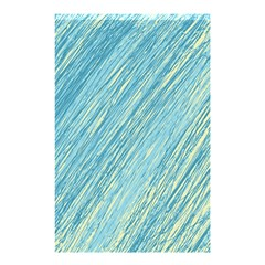 Light Blue Pattern Shower Curtain 48  X 72  (small)  by Valentinaart
