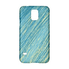 Light Blue Pattern Samsung Galaxy S5 Hardshell Case  by Valentinaart