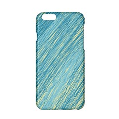 Light Blue Pattern Apple Iphone 6/6s Hardshell Case by Valentinaart