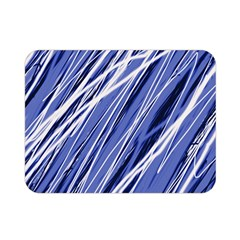 Blue Elegant Pattern Double Sided Flano Blanket (mini)  by Valentinaart