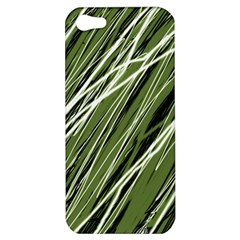 Green Decorative Pattern Apple Iphone 5 Hardshell Case