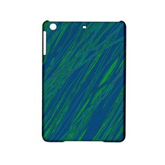 Green Pattern Ipad Mini 2 Hardshell Cases by Valentinaart