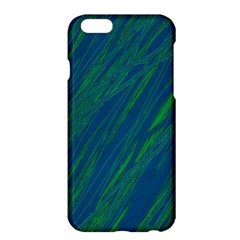Green Pattern Apple Iphone 6 Plus/6s Plus Hardshell Case by Valentinaart