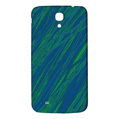 Green Pattern Samsung Galaxy Mega I9200 Hardshell Back Case by Valentinaart