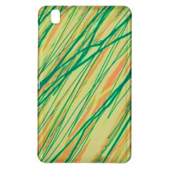 Green And Orange Pattern Samsung Galaxy Tab Pro 8 4 Hardshell Case by Valentinaart