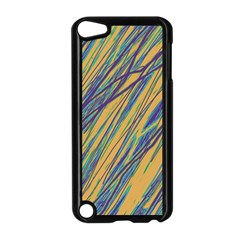 Blue And Yellow Van Gogh Pattern Apple Ipod Touch 5 Case (black)