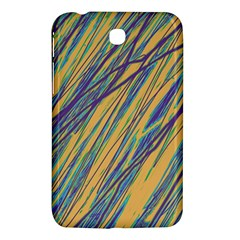 Blue And Yellow Van Gogh Pattern Samsung Galaxy Tab 3 (7 ) P3200 Hardshell Case  by Valentinaart