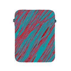 Red And Blue Pattern Apple Ipad 2/3/4 Protective Soft Cases