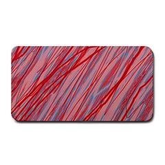 Pink And Red Decorative Pattern Medium Bar Mats by Valentinaart